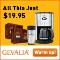 Coffeemaker, Travel Mug and 2lbs of Coffee