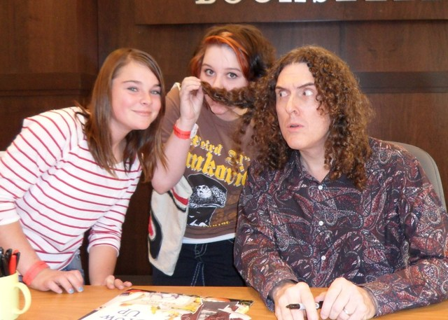 Weird Al Yankovic Barnes & Noble book signing