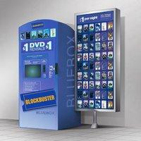 5 Blockbuster Express DVD Rentals