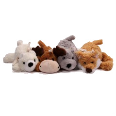 3pk of Cozies Naturals Dog Toys