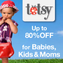 Save up to 80% at Totsy