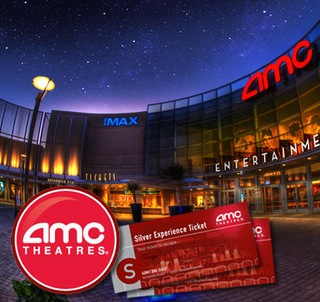 4 AMC Movie Tickets
