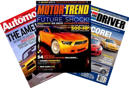 Auto Magazine Subscriptions
