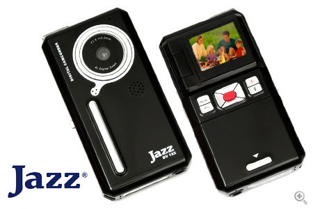 Jazz Digital Camera and Camcorder