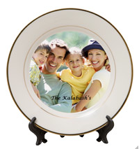 Custom Photo Ceramic Plate