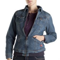 Women's Dickies Lined Jean Jacket