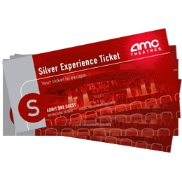 4 AMC Silver Experience Tickets
