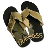 Men's Guinness Bottle Opener Flip Flops