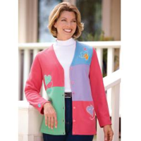 Women's Heart Cardigan
