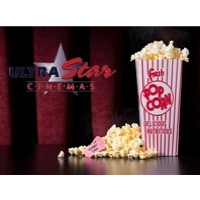 2 Ultra Star Movie Tickets & a Large Popcorn