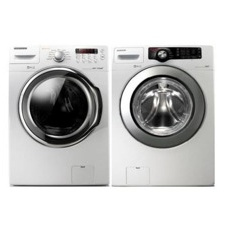 Samsung Front Loading Washer and Electric Dryer