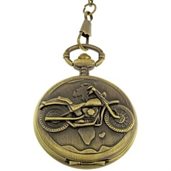Biker Pocket Watch