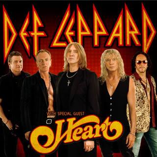 Def Leppard/Heart Concert Ticket in Seattle