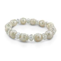 Swarovski and Pearl Bracelet
