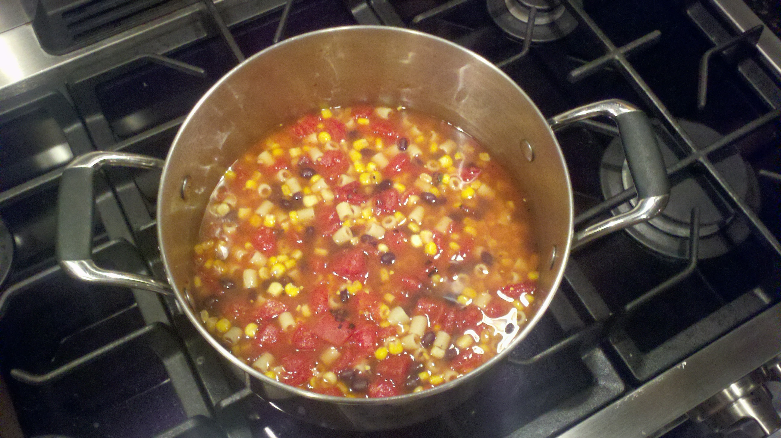 Vegetarian Southwest Soup recipe