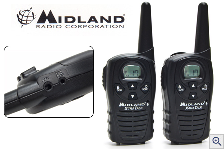 Pair of Midland 2-Way Radios