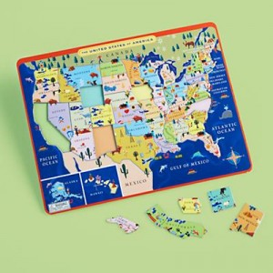 us puzzle map