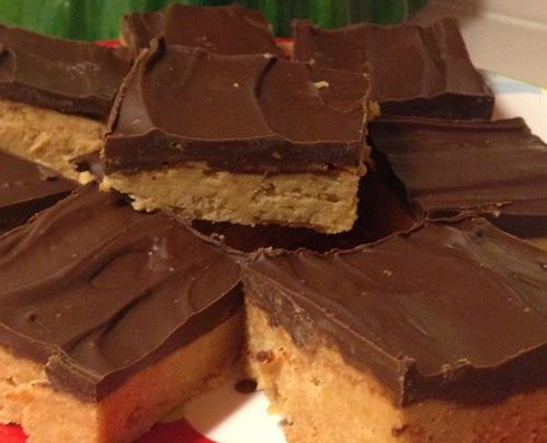 Chocolate Peanut Butter Squares Recipe