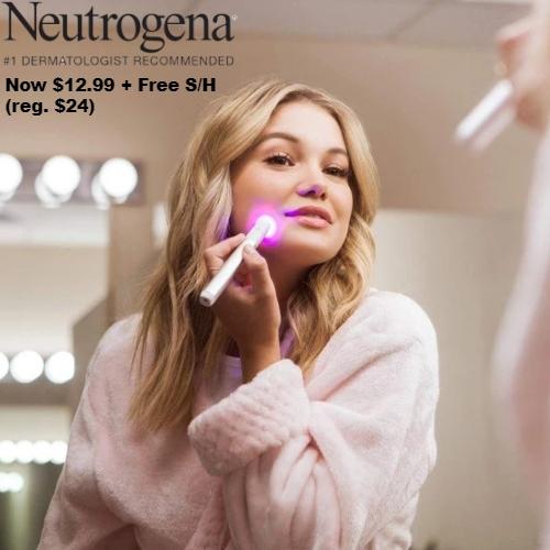 48 Off Neutrogena Light Therapy Acne Spot Treatment Only 12 99