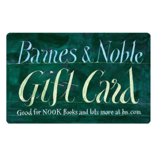 $100 Barnes & Noble Gift Card : $88 + Free S/H