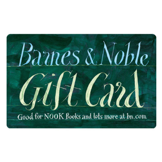 aisnp.ml's Barnes & Noble gift card is a plastic or digital gift card (also known as an eGift card) pre-loaded with a monetary value. This gift card is purchased on aisnp.ml and can be used to purchase Barnes & Noble merchandise in stores or online at aisnp.ml