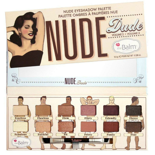 91% off theBalm Nude Eyeshadow Palette : Only $5.84