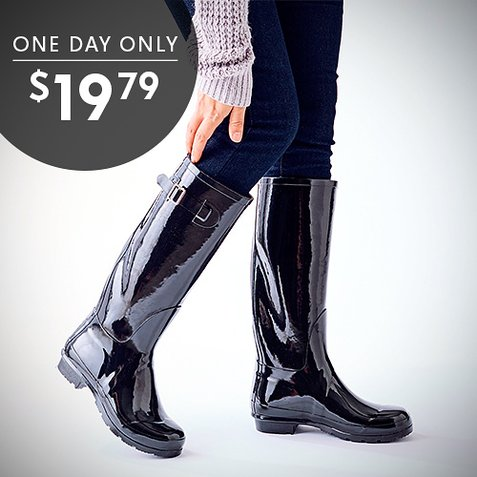 58% off Women's Nomad Rain Boots : Only $19.79