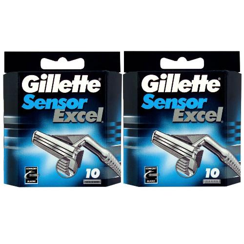 20 Gillette Sensor Excel Blades : $19.99 + Free S/H