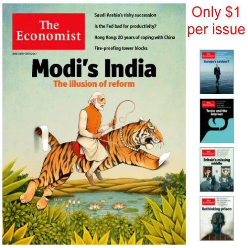 66% off The Economist Magazine Subscription : Only $51