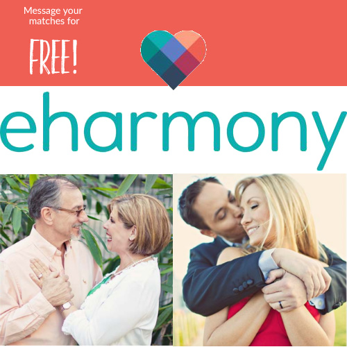 eHarmony : Communicate for Free This Weekend + 50% off a 3-Month Membership