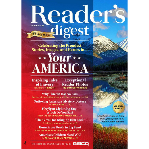 95% off 6-Month Reader's Digest Subscription : Only 99¢