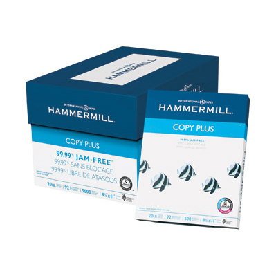 Case of Hammermill Paper : $29.99