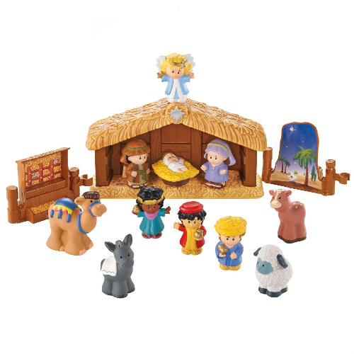 49% off Little People Nativity Set : $15.29 + Free S/H
