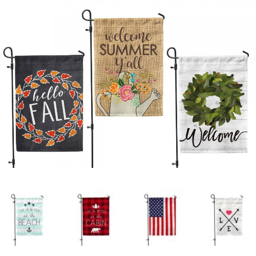 44% off Decorative House & Yard Flags : Only $8.96 + Free S/H