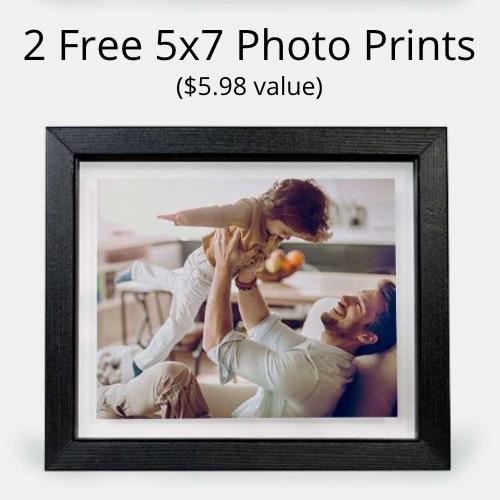 2 Free 5x7 Photo Prints
