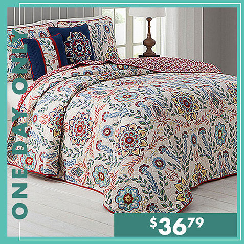 Up to 75% off Bedding Sets : Only $36.79
