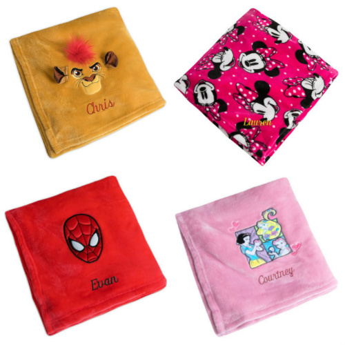 57% off Disney Personalized Fleece Throws : Only $11