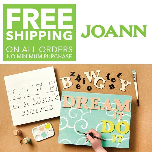 Joann.com : Free S/H on any order