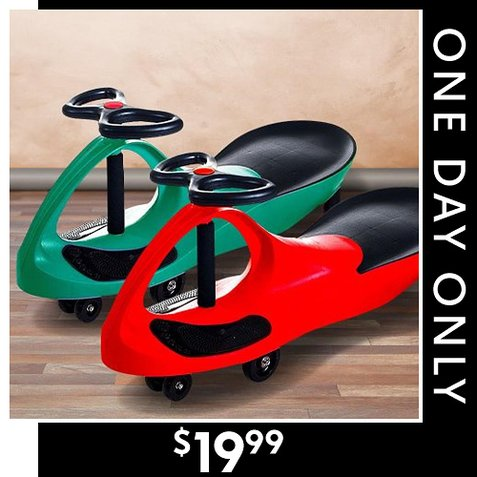 66% off Wiggle Car Ride-On : Only $19.99