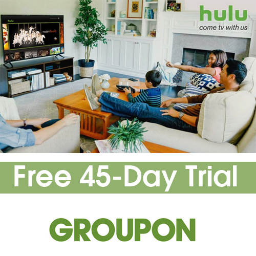 Hulu Limited Commercials : Free 45-day Trial