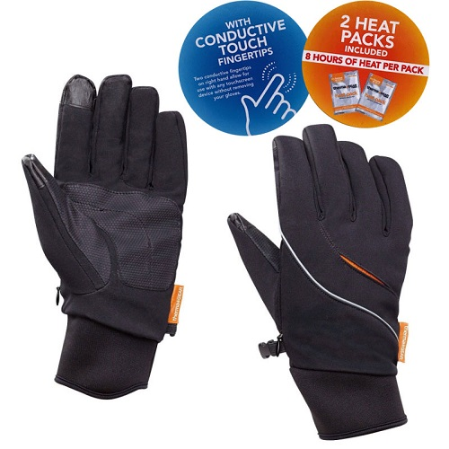 60% off Men's Heated Gloves : Only $9.99 + Free S/H