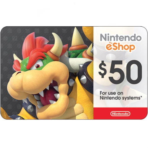 15% off $50 Nintendo eShop Gift Card : Only $42.50