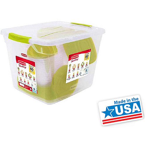 Rubbermaid 60pc TakeAlongs Set : $19.88
