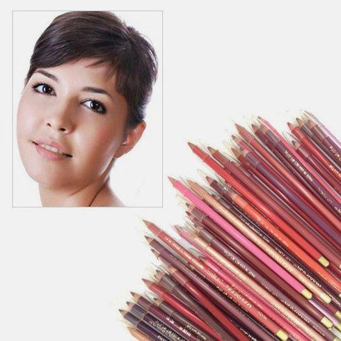 40pc Waterproof Eyeliner & Lip Pencil Set