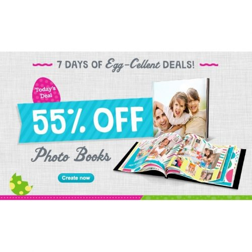 Photo Books : 55% off