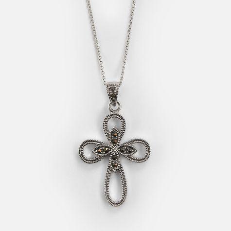 Marcasite Cross Pendant : $11.99 + Free S/H
