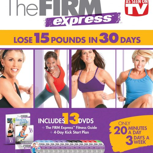 The Firm Express 30-Day Fitness Box Set : $18.99