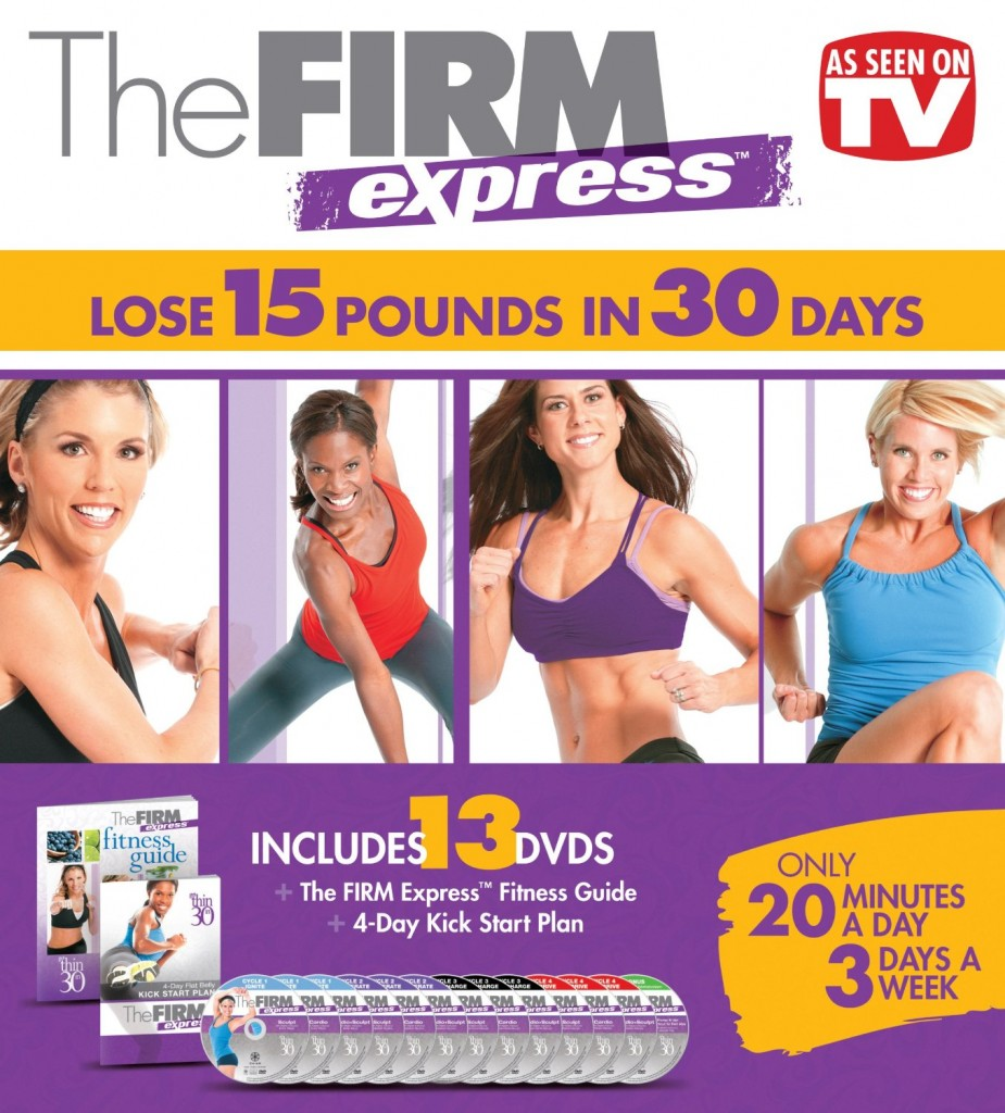 The Firm Express 30-Day Fitness Box Set