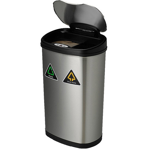Motion Sensor Recycle/Trash Can : $34.96