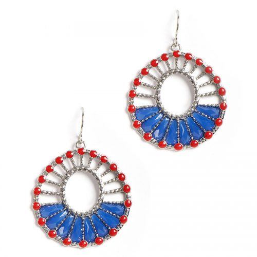 Americana Earrings : $4.98 + Free S/H